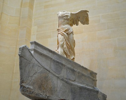 Louvre - the Winged Victory