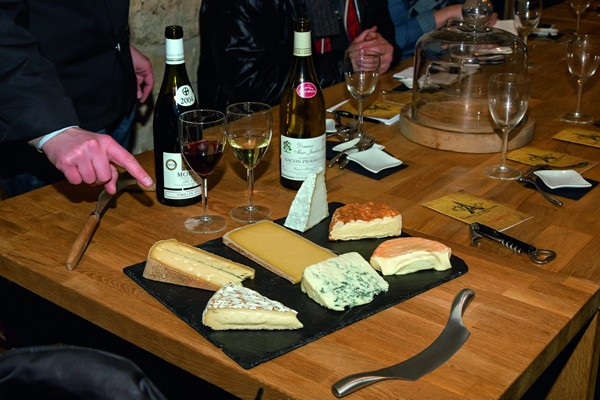Cheeses & wines