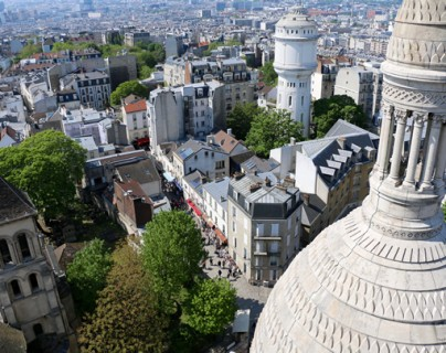 View from Montmartre