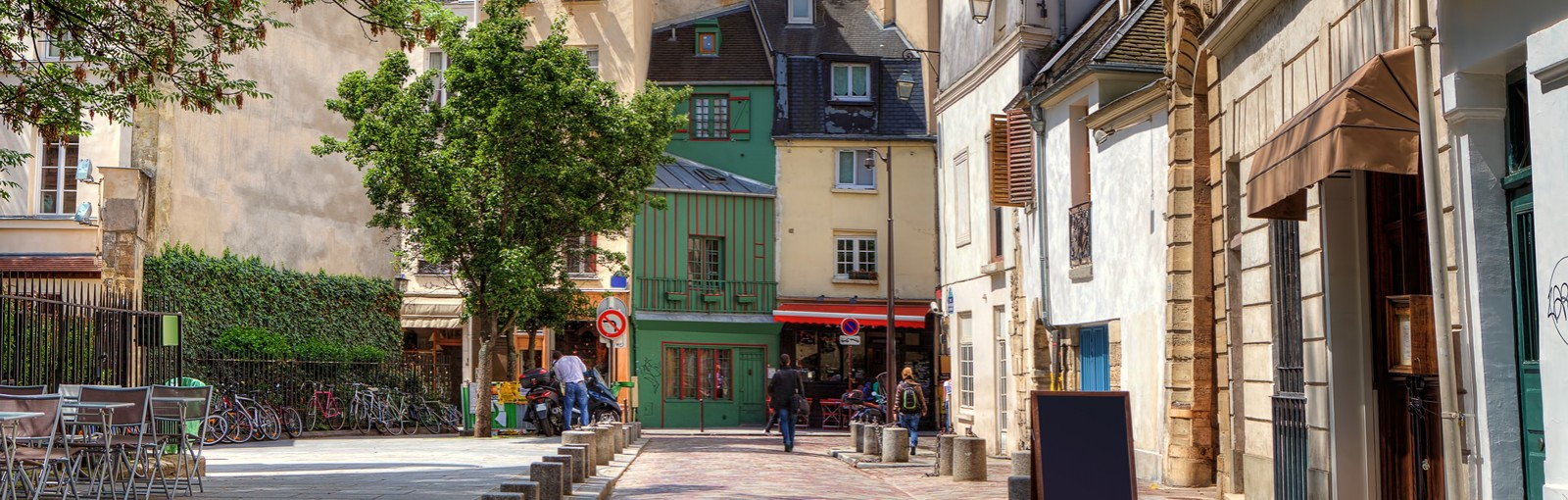 Tours The old district of the Marais, Place des Vosges, the village Saint Paul - Walking tours - Paris Tours