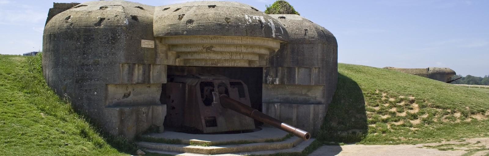 Longues-sur-mer - German battery