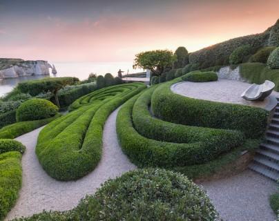 Gardens of Etretat