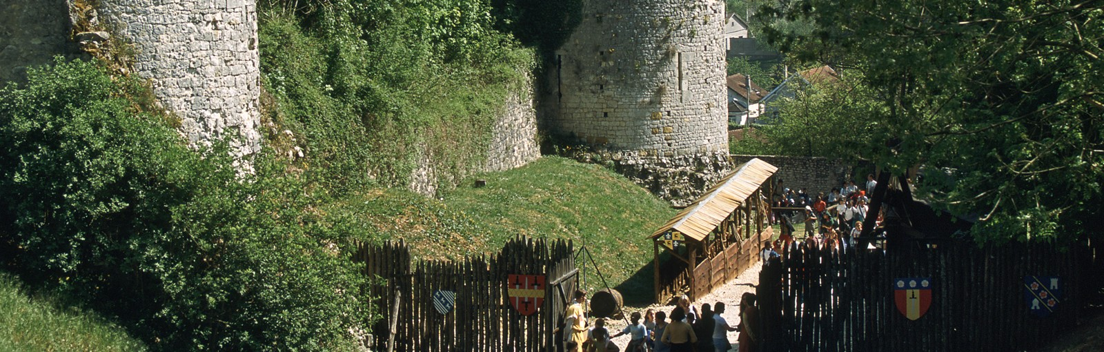 Tours Special kids : Provins - Half days - Day tours from Paris