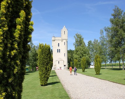 Thiepval - Ulster tower