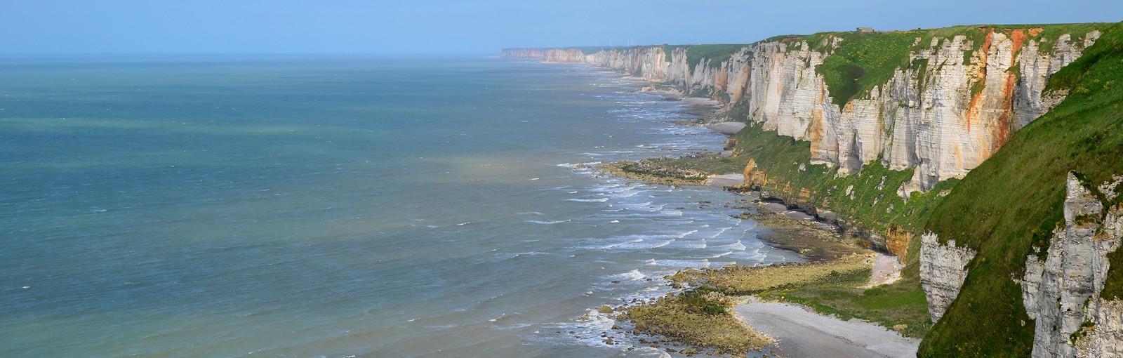The Alabaster coast near Fecamp