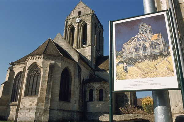 The church of Auvers
