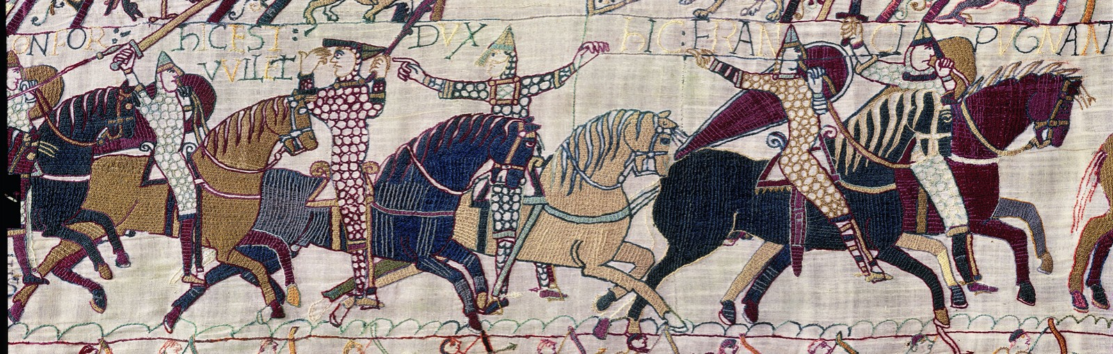 Bayeux tapestry - scene 55 - King William: see I'm alive!